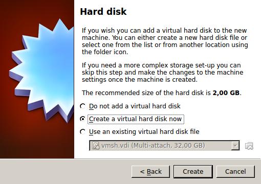 Выбор жёсткого диска для ВМ
